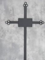 Ритуальный металлический крест