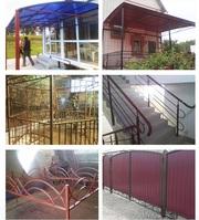 Заборы и ограды из металла