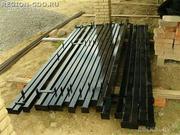 Столбы металлические бесплатная доставка