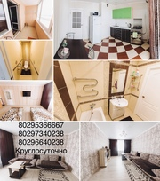 Квартира в Мозыре на часы сутки для командированных.